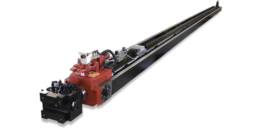 Long cylinder gives range to bars, masts